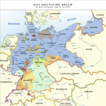 deutschlandkarte mit grenzen Deutsches Reich in den Grenzen vom 31. Dezember 1937 – Wikipedia