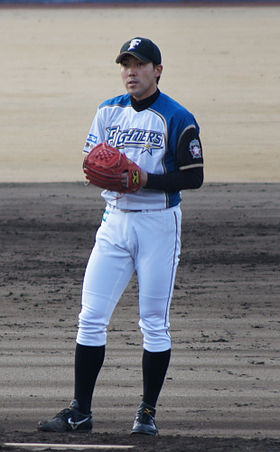 gay baseball pitcher Japanese