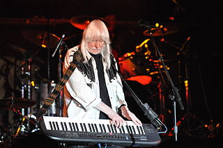 Edgar Winter American recording artist; rock and blues musician