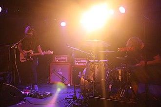 DZ Deathrays - DZ Deathrays performing in Berlin in 2011