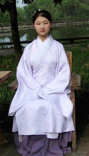 Women's clothing in China - Chang-ao (長襖) - formal wear for women