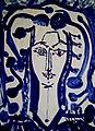 Dagmar Anders - Begegnung mit Pablo Picasso 1970, Tuschzeichnung.jpg