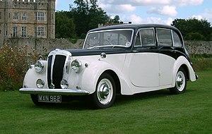 Daimler Consort - Consort six-light four-door saloon 1952 example