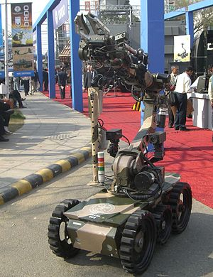 DRDO Daksh - Daksh - Remotely Operated Vehicle developed by DRDO