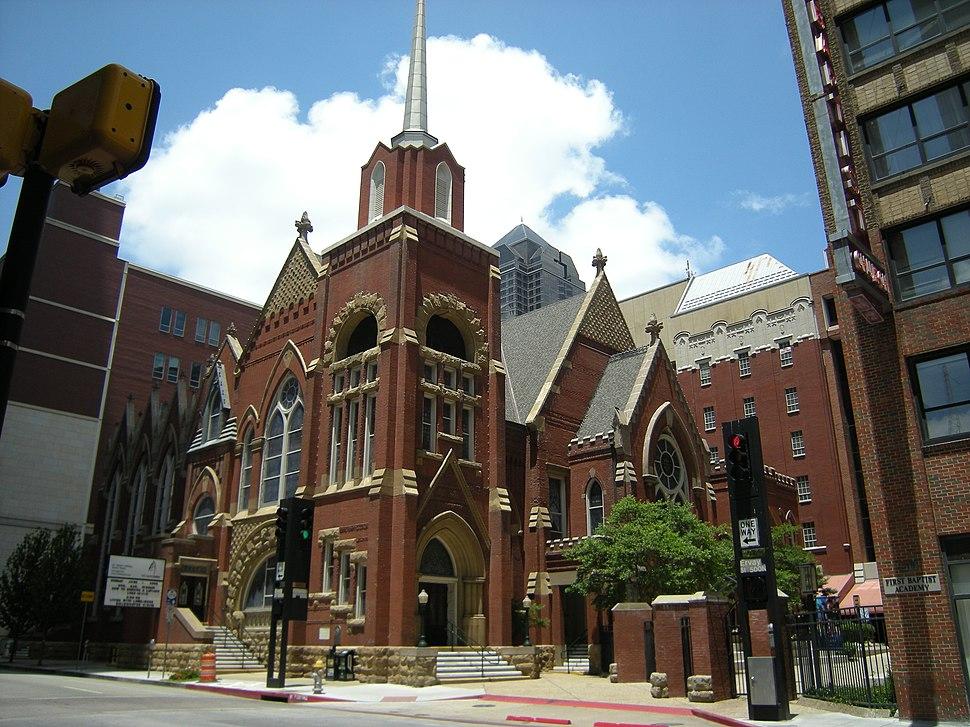 Dallas - First Baptist Church 02