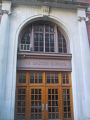 "The entrance to ""Big Dalton."""