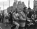 Dam tot Dam race , eerste dag, de heer W. Bruijnzeel te Zaandam, Bestanddeelnr 910-6139.jpg