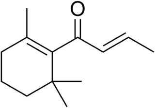 Damascone chemical compound