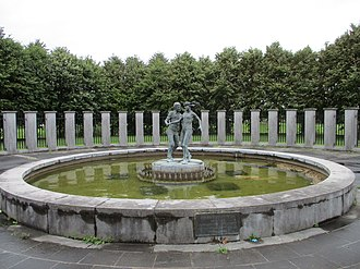 Coolock - Dancing Couple memorial in Stardust Memorial Park