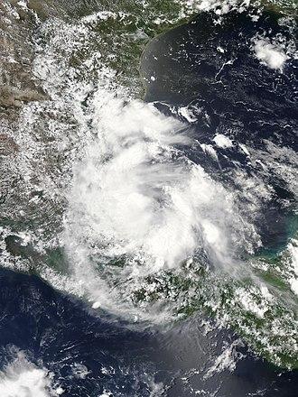 2016 Atlantic hurricane season - Image: Danielle 2016 06 20 1940Z