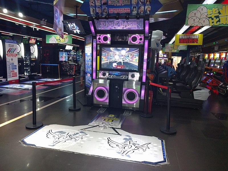 gambar 1 - mesin game danz base