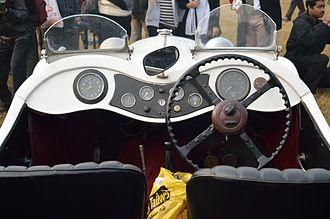 SS 1 - Image: Dashboard Jaguar SS One 1936 26 hp 6 cyl Kolkata 2013 01 13 3098