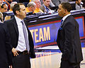 David Blatt and Tyronn Lue on Jan 25, 2015.jpg