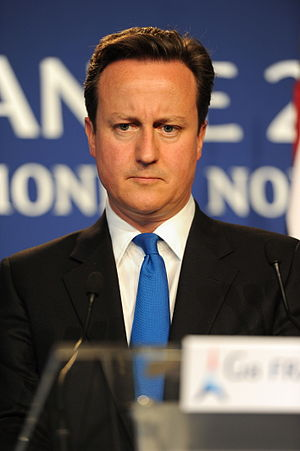 David Cameron at the 37th G8 Summit in Deauville 104