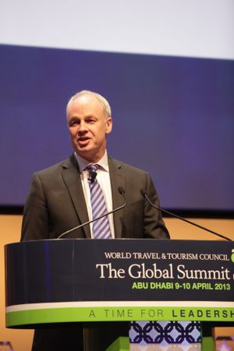 World Travel and Tourism Council - David Scowsill speaking at the 2013 Global Summit, Abu Dhabi