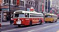 Dayton Christmas trolley bus in 1968.jpg