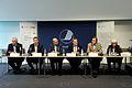 De nordiska statsministrarna haller pressmote pa Nordiskt globaliseringsforum 2010.jpg