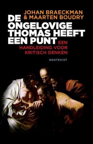 Johan Braeckman - De ongelovige Thomas heeft een punt cover.