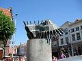 De verbeelding van een bewogen historie Markt Zaltbommel.jpg