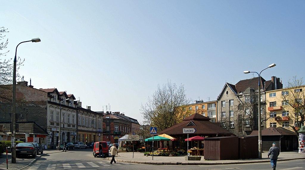 Debnicki Market Square, Debniki, Krakow, Poland