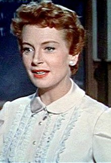 L'actriz escocesa Deborah Kerr, en una scena d'a cinta An Affair to Remember (1957).
