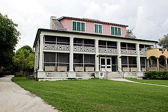 Charles Deering Estate - The Richmond Cottage as it looks today.