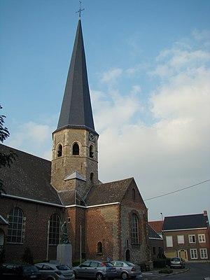 Deerlijk - Sint-Columba church in Deerlijk
