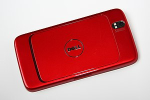 Dell Streak - Streak 5, back side