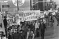 Demonstratie tegen sluiting Philips Usfa in Helmond demonstranten in Helmond (o, Bestanddeelnr 927-1123.jpg