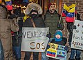 Demonstrations and protests in Venezuela in 2019 in Quebec city, Canada 02.jpg