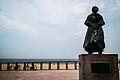 Den Haag - Scheveningen - Vissersvrouw (Fisherman's wife) (9364703580).jpg