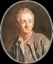 Pierre-Marie Alix, ritratto di Diderot da un disegno di Van Loo