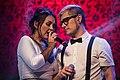Denisse Malebrán cantando con Carlos Azocar.jpg