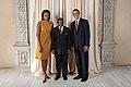 Denzil L Douglas with Obamas.jpg
