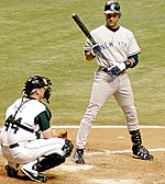 Derek Jeter batting 9-3-2005 New York Yankees.JPG
