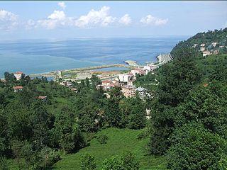 Derepazarı Town in Black Sea, Turkey
