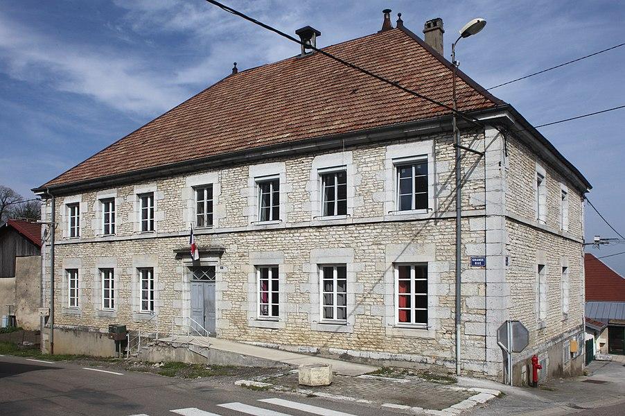 Mairie de Déservillers (Doubs).