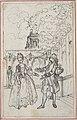 """Design for a Scene in de Laujon's """"L'Amoureux de quinze ans, ou la Double-Fête..."""" MET DP806580.jpg"""