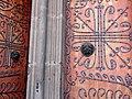 Detail of Church Doors with Wrought Iron Design - Elisabethkirche - Marburg - Germany - 01.jpg