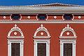 Detail of a building on the main square, Novigrad, Istria County, Croatia.jpg