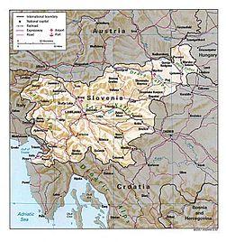 Atlas Of Slovenia Wikimedia Commons - Detailed map of mauritius