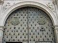 Detalles de la puerta del Palacio Episcopal ( Cuenca ) - panoramio.jpg