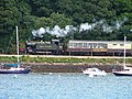 Devon Belle, Paignton-Kingswear Steam Railway - geograph.org.uk - 55729.jpg