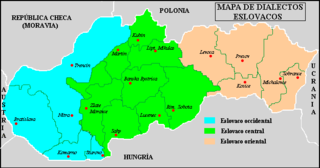 Eastern Slovak dialects dialect