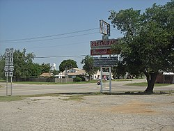 Diamonds Restaurant in Watonga