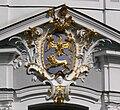 Dießen Marienmünster Außen Westfassade detail Klosterwappen.jpg