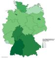 Die Landtagswahlergebnisse von Bündnis 90 Die Grünen (Stand November 2018).png