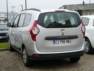 Dacia Lodgy - Rear view