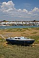 Dilapidated boat, Shoreham-by-Sea harbour, River Adur, West Sussex, England.jpg