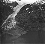 Dinglestadt Glacier, terminus of valley glacier, September 4, 1977 (GLACIERS 6468).jpg
